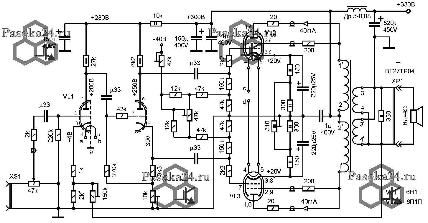 какая схема фазоинвертора лучше анодов
