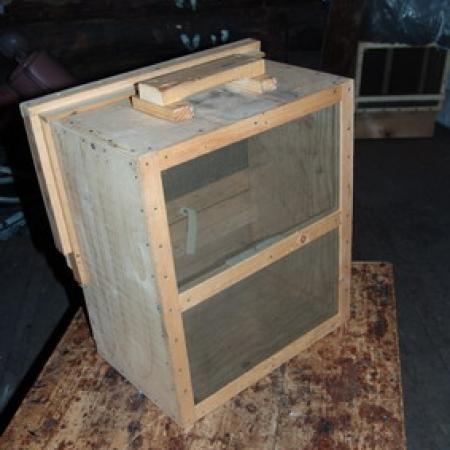 Изготовление роевни для пчел своими руками видео